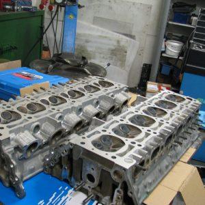 Motorrevision Mercedes-Benz 12-Zylinder